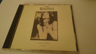 MADONNA - LIKE A PRAYER (PROMO CD SINGLE) RARE 1989 USA SIRE PRO-CD-3448