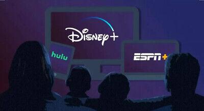 ⚡️Disney Account⚡️(Hulu/Disney+/ESPN+)⚡️12 Months Warranty⚡️RRP £125⚡️(Read Des)