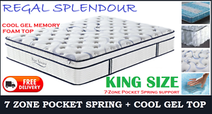 KING Size Orthopedic MEMORY FOAM Mattress DELIVERED FREE New Farm Brisbane North East Preview
