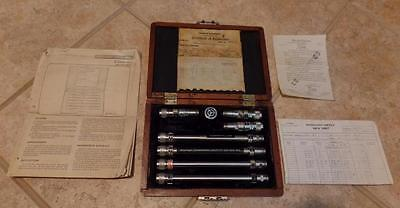 Vintage Ser 1 Weinchel Precision Attenuator Set Mod As-2 In Wood Case Vg Cond