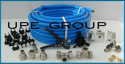 "MaxLine COMPRESSED AIR TUBING piping system Master Kit  3/4"" pipe x 100 FT M7500"