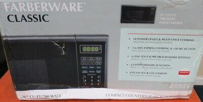 Farberware Black FMO16AHTBSA 1.6 Cu. Ft. 1300-Watt Microwave