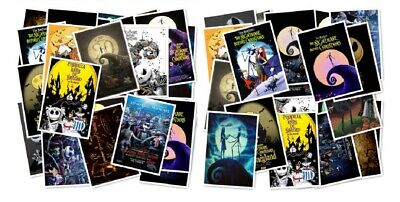 Nightmare Before Christmas Theme (Nightmare Before Christmas Themed Decal Vinyl Stickers Assorted Lot of 25)