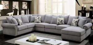Brand New Custom Configuration Sectionals From Manufacturer