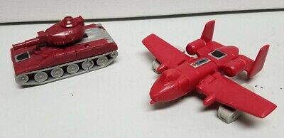 G1 Transformers Warpath and Powerglide