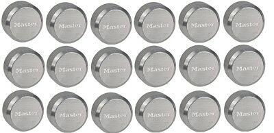 Master Lock 6271ka Hidden Shackle Lot Of 18 Keyed Alike Reinforced Puck Locks