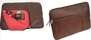 d bramante 17 8 25 4cm netbook tablette ipad cuir v ritable peau tui pochette ebay. Black Bedroom Furniture Sets. Home Design Ideas