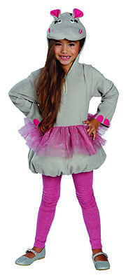 Kostüm für Kinder deluxe (Nilpferd Kostüm Kinder)