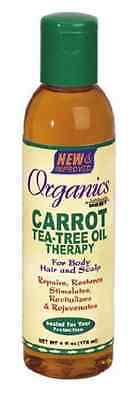 Africa`s Best Organics Carrot Tea-Tree Oil Therapy for Body,Hair & Scalp