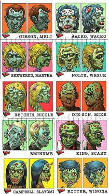 HOLLYWOOD ZOMBIES GLOW-IN-THE-DARK MUG SHOTS (10)](Glow In The Dark Shots)