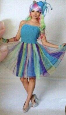 Kleid Party Karneval Fee Meerjungfrau neu Deiters Größe M