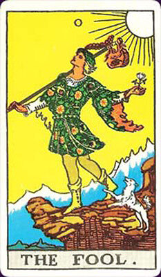 Rider Waite Smith Tarot single replacement card University Books Vintage