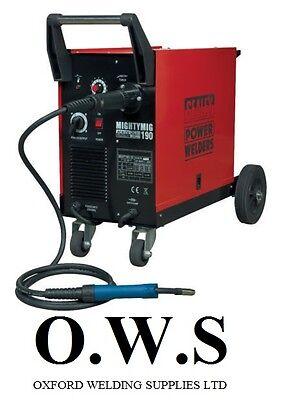Sealey Mightymig190 190amp Gas No Gas Mighty Mig Welder Extras