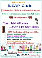 Leadership and public speaking classes for kids