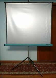 Singer Pioneer Silver Projection Screen