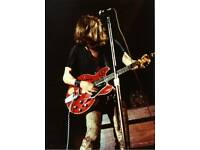 Ten Years After Alvin Lee Live at Woodstock 1969 #101 Print 5 x 7