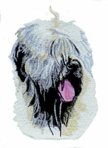 Large Embroidered Zippered Tote - Wheaten Terrier BT3605