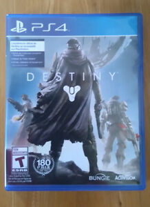 DESTINY for the PS4 $10.00