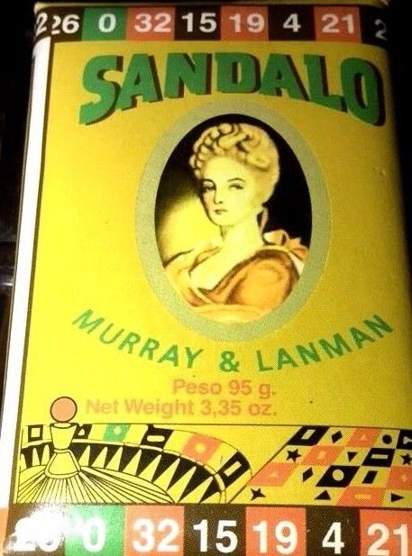 Sandalo Soap Fresh MURRAY & LANMAN SANDALWOOD BAR SOAP 3.35 OZ. (SANDALO ) PERU