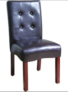 Leather Dining/Side Chair (One)