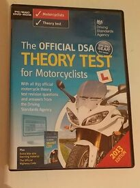 Motorbike theory test pass dvds