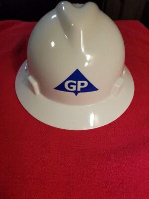 Msa V-gard Full Brim Hard Hat Wo Suspension