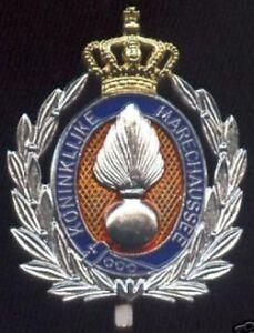 Pet-Embleem-OFFICIER-Kon-Marechaussee-Nederland-Dutch-M-P-officer-KMar