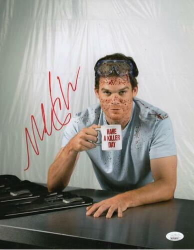 Michael C Hall Dexter is Back. Dexter Morgan Signed Reprint