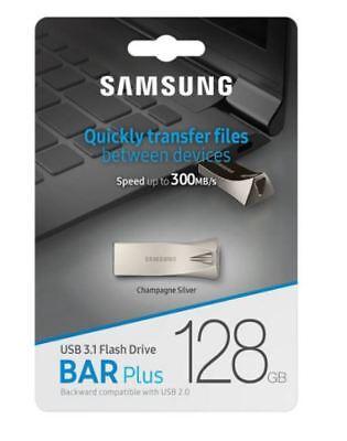 Samsung 32GB,64GB,128GB USB 3.0 3.1 Bar Plus Flash Memory Drive Stick 300MB/s