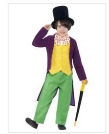 Willy Wonka - Roald Dahl Fancy Dress Costume size 10-12