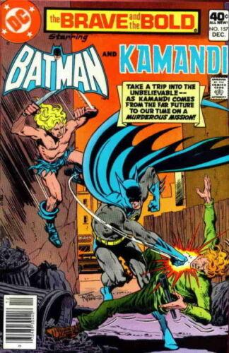 BRAVE AND THE BOLD #157 F, Batman, Kamandi, DC Comics 1979 Stock Image