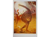Salvador DALI Le Danse The Dancers Surrealist Litho Print 25 x 19-1//2