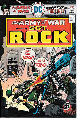 Our Army At War Comic Book #289, DC Comics 1976 FINE