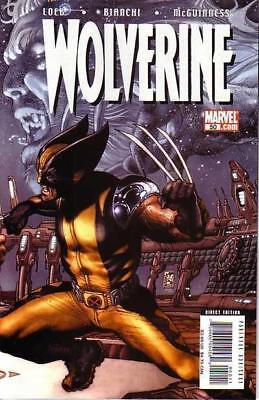 Wolverine #50A, Loeb Story, Simone Bianchi Art, NM 9.4, 1st Print, 2007