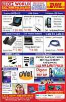 STORE OPENING SPECIAL, VISIT US FOR DEALS ON CELLPHONES, LAPTOPS