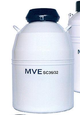 Chart Mve Sc 3632 Sample Storage Cryogenic Dewar Tank 10829621