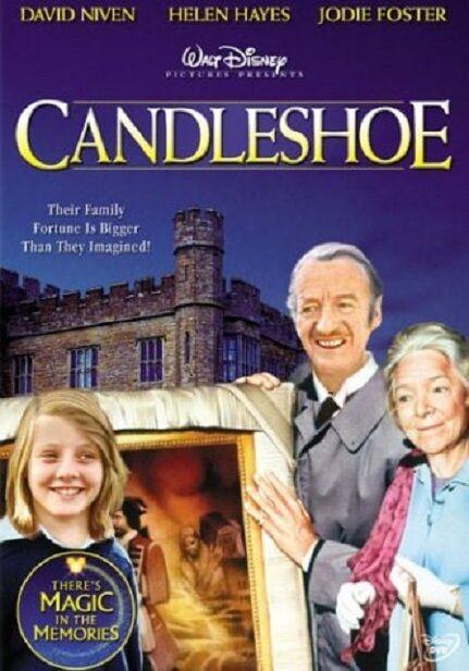 CANDLESHOE (1977 David Niven / Disney)   -  DVD - REGION 1 - SEALED