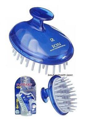 JAPAN IKEMOTO HEAD-SCALP/HAIR BEAUTY CARE ION CLEANSING BRUSH/MINUS ION