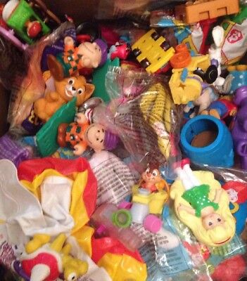Vintage Happy Meal Toys Box Random Grab Bag Lot 10 1 Sealed Disney More 80's 90s