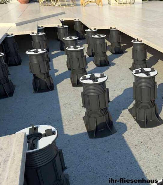 stelzlager h henverstellbar se0 bis se14 selbstnivellierend f r terrassenplatten eur 1 00. Black Bedroom Furniture Sets. Home Design Ideas