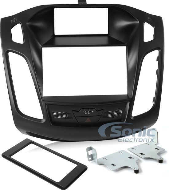 Scosche FD6200B Double DIN Install Dash Kit for 2012-Up Ford Focus Vehicles
