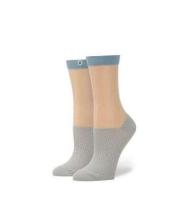 Stance Women's Lessimore Anklet Socks Blue OS NWT W419A17LES-BLU-OS