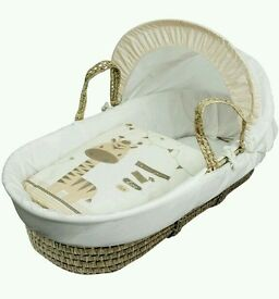 Kinder valley zoo time Plam moses basket. Brand new 5 left in stock.