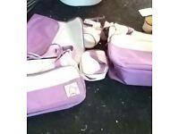 Baby changing bag set