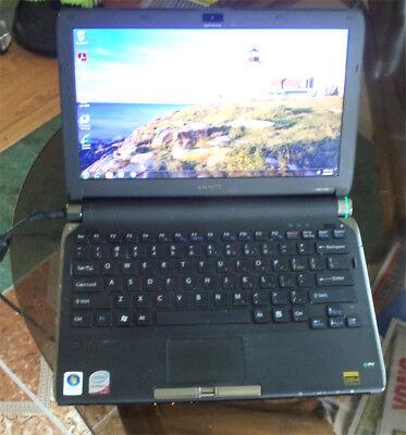 vgn-tt190n intel core duo  160Gb hard drive 4Gb memory DVD RW wireless