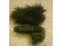 Rode Video Mic Pro with Dead Cat