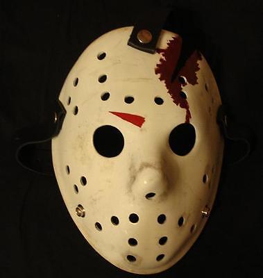 Halloween 4 Replica Mask (Jason Creation Station Friday 13th 4  Hockey MASK HALLOWEEN HORROR prop)