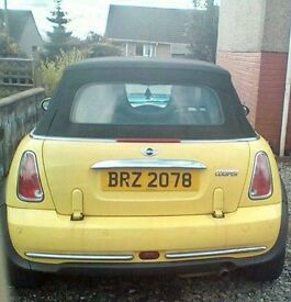 MINI COOPER CONVERTIBLE 1.6 2004 MOTD APRIL 2018