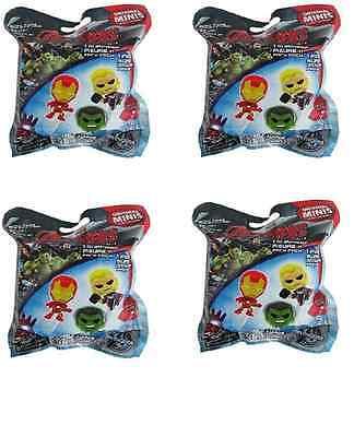 4x Avengers 2 Age Of Ultron original minis Mini Figures Pack Blind Bags Series 1