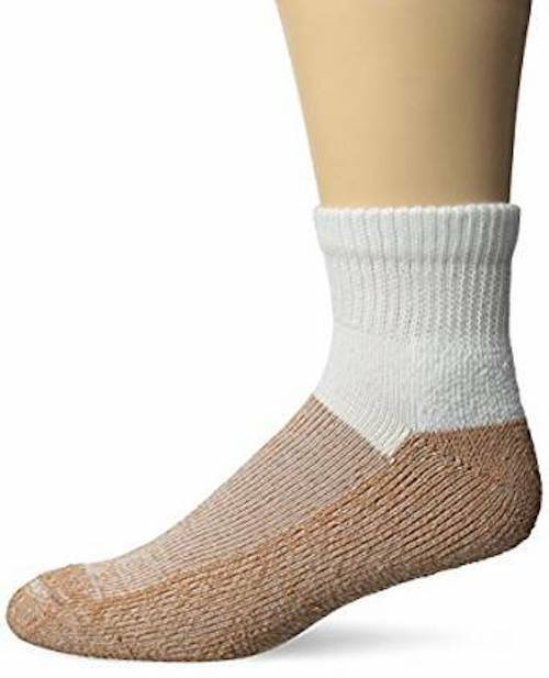 ONE PAIR COPPER SOLE ANKLE SOCKS KILLS ,PREVENTS ATHLET'S FOOT *FUNGUS* UNISEX Clothing, Shoes & Accessories